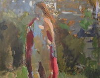 oil sketches, academy figure, studies (nude)
