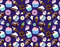 Sweets & Treats - Colored