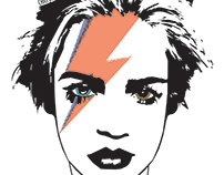 .La mia ragazza è bella come David Bowie.