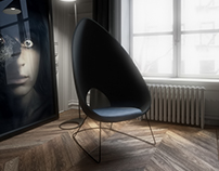 Peto Chair & Render