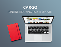 CarGo - Online Booking PSD Template