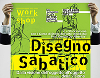"""Poster """"Disegno Sabatico"""" / 2015"""