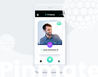 Pinmate mobile app