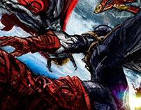 Falling Avengers