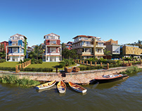 Arpora River Villas,Goa,India