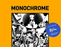 MONOCHROME-BIJIAN