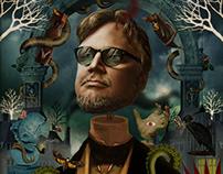 Guillermo Del Toro Portrait.