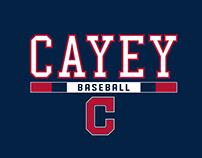 Cayey Baseball Logo