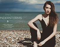 """She's Thunderstorms"" for ValenciaModa"