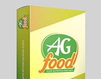 AG FOOD | Logo & Concept Design by SADEK AHMED | www.sa