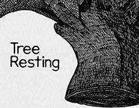 Tree Resting - Illustration