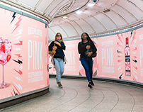 Beefeater Pink London Takeover