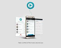Woosh ( social jukebox app )