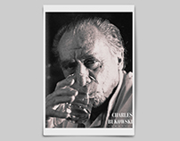 Editorial Graphic Design: Charles Bukowski Biography