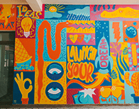 Launch Your Dream Mural