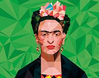 Frida LowPoly