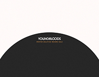"Youngbloods ""Winter Record Sale"" Ad Campaign"