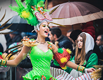 Batuque (Ala de Passistas -Bahia) - Carnaval Mealhada