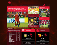 Football Team website