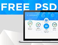 Concept Design for Outsourcing platform l  FREE PSD