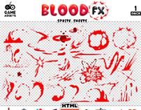 Blood Sprite FX - Pack 1