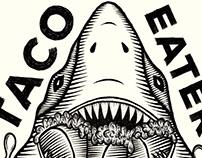 Playera taco eater | Taco eater T-shirt