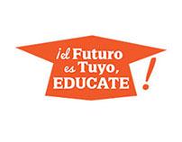 El Futuro es Tuyo, Educate - logo design