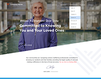 Senior Living Website and Logo Concepts
