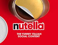 Nutella - The Yummy Italian Social Content
