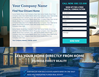 Unbounce Real Estate Landing Page Design