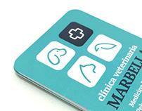 Clínica Veterinaria Marbella Branding Design
