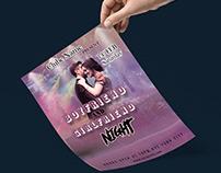 Valentines Day Flyer || Boyfriend and Girlfriend Night