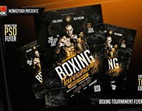 Boxing Tournament Flyer