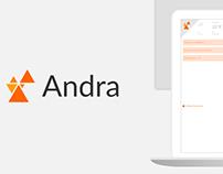 Andra Web Application
