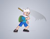 Finn - animation test