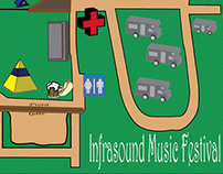 Map for Infrasound Music Festival