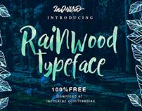 FREE Rainwood Font