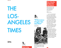 Los Angeles Times Design