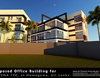 Proposed Office Building, Homagama, SL - 3D Images