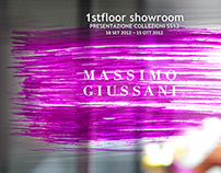 Massimo Sassetti, 1stfloor Showroom Press SS13