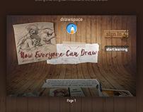 drawspace website redesign