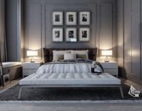 Master Bedroom (Kuwait) ....Grey is always Elegant ....
