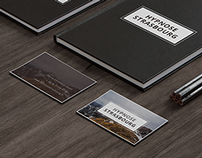 Hypnose Strasbourg. Design business card