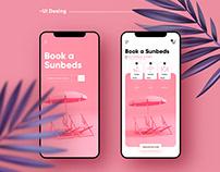 Book A Sunbeds / UI Design