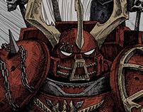 Warhammer 40000. Art poster