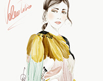 Valentino illustration ss18