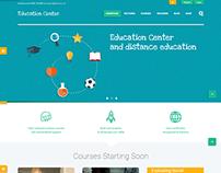 Education Center | Training Courses Wordpress Theme