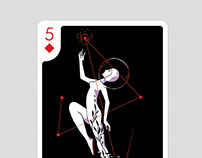 Five of Diamonds for Playing Arts