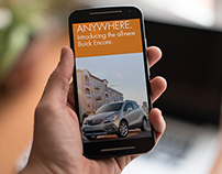 Web Banners for Buick Encore