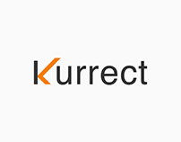 Logotype Exploration of Word Kurrect by Mandar Apte